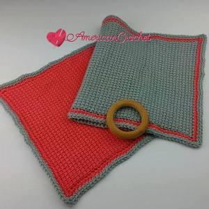 Tunisian Hugs Lovey | Tunisian Crochet Pattern | American Crochet @americancrochet.com #TunisianHugsLovey