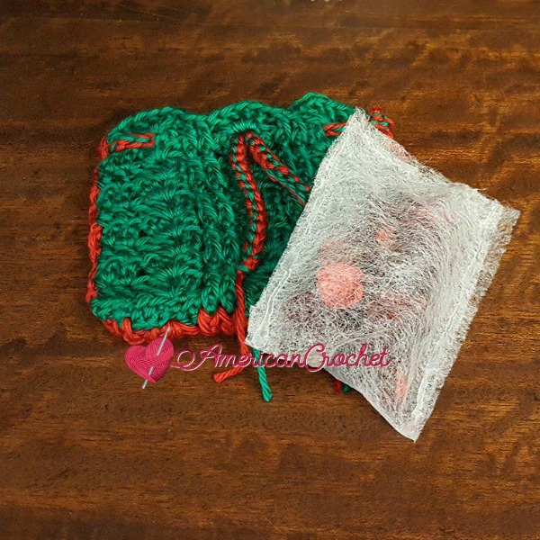 Scented Pouch | Free Tutorial | American Crochet @americancrochet.com #freetutorial