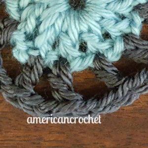 LILY MAE Circle in A Square   American Crochet @americancrochet.com