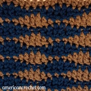 Ocean Medley Blanket Part Two   Crochet Pattern   American Crochet @americancrochet.com