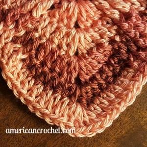 Rosewood Baby Blanket Part One | Crochet Pattern | American Crochet @americancrochet.com #crochetpattern #crochetalong