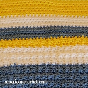 Special Memories Blanket Part Two | American Crochet @americancrochet.com #americancrochet #crochetalong