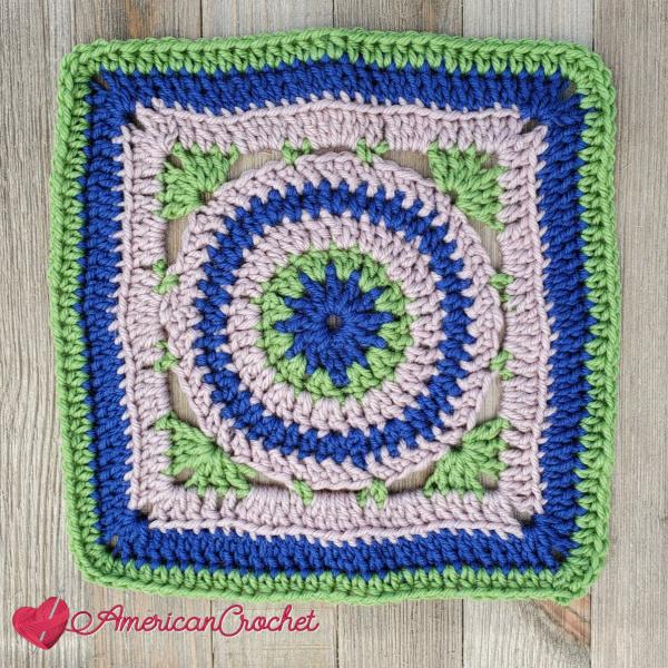 AC-RWS-CAL-Square Seven | American Crochet @americancrochet.com #crochetalong