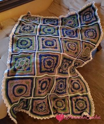 Riverwood Square Blanket