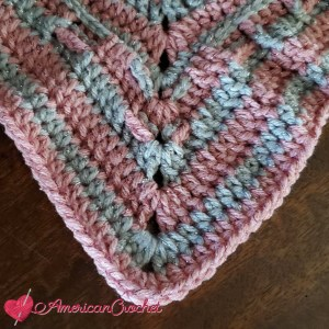 Pixie Dust Square | Crochet Pattern | American Crochet @americancrochet.com #crochetpattern