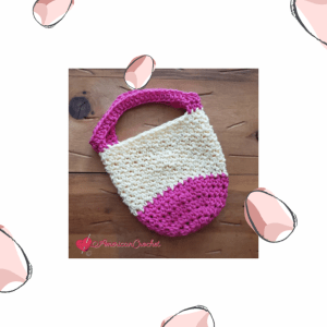 Spring Morning Mini Bag | American Crochet @americancrochet.com