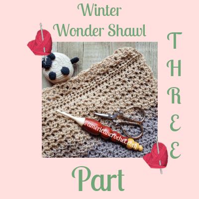 Winter Wonder Shawl Part Three