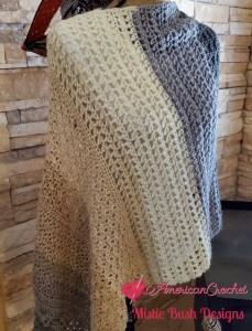 Winter Wonder Shawl Part Seven | American Crochet @americancrochet