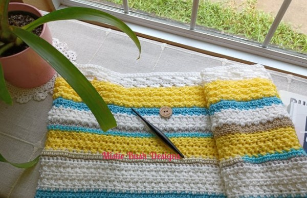Happy Throw Two Part Eight   American Crochet @americancrochet