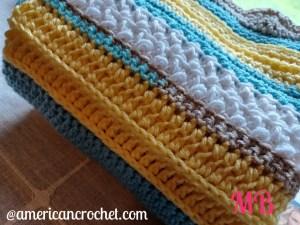 Happy Throw Two Part Thirteen   American Crochet @americancrochet