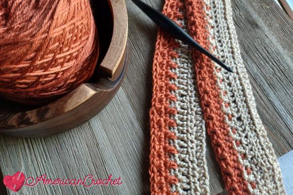 Happy Throw Three Part One | American Crochet @americancrochet.