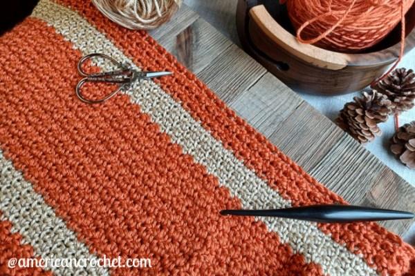 Happy Throw Three ~ Part Four   American Crochet @americancrochet.com