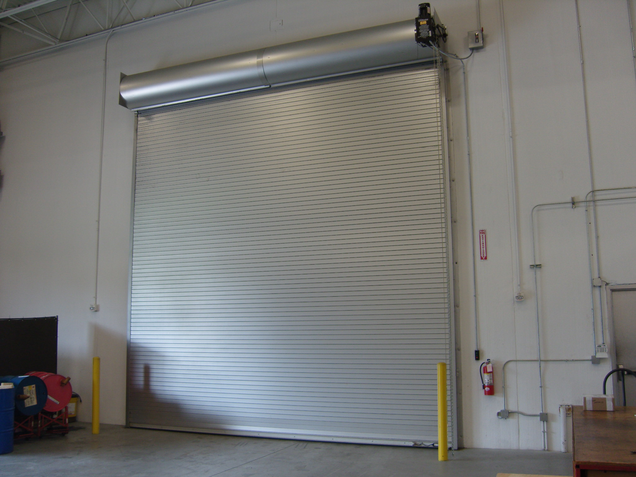 Steel Rolling Roll Up Roller Service Doors St Cloud MN