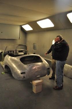 American Dry Stripping Porsche Abrasive Media Blasting