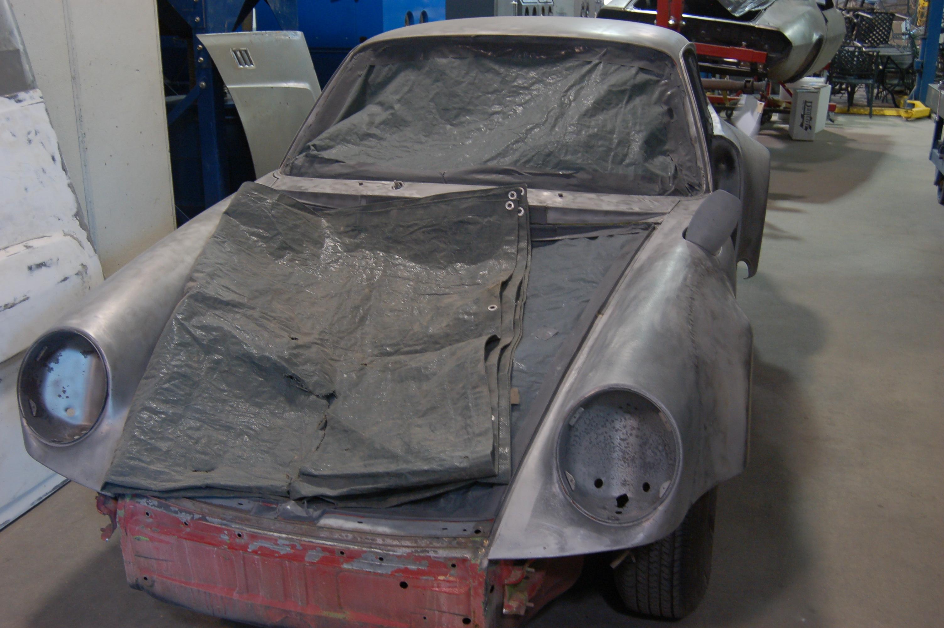 1986 Porsche 911 Dry Abrasive Stripping CT