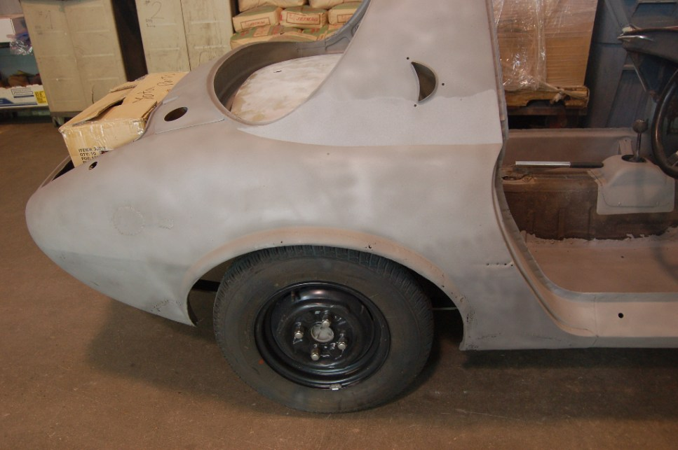 1966 Toyota Sports 800 Sandblast