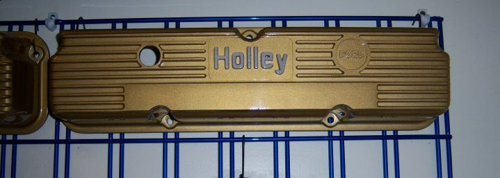 Holley Block after coating at Xtreme Temperature Coatings