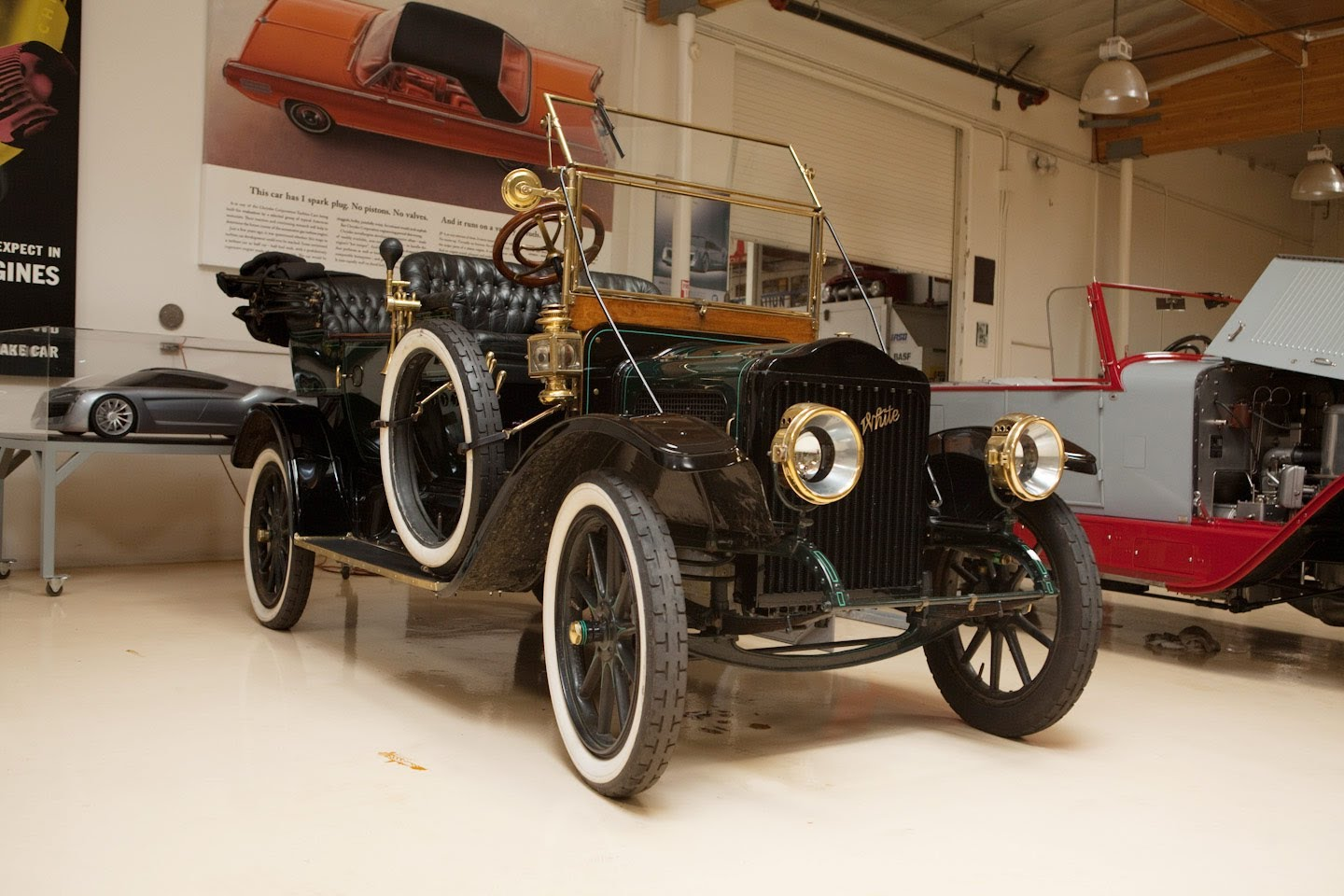 1910 White Steam car Model O-O from Jay Leno
