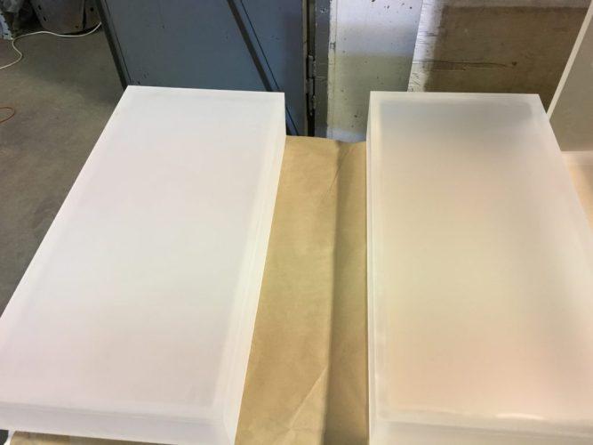 Surface Prep Lexan Boxes