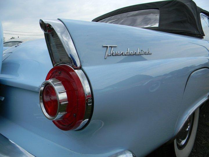 Thunderbird Time Machines Antique Car Show photo by Ann Nyberg