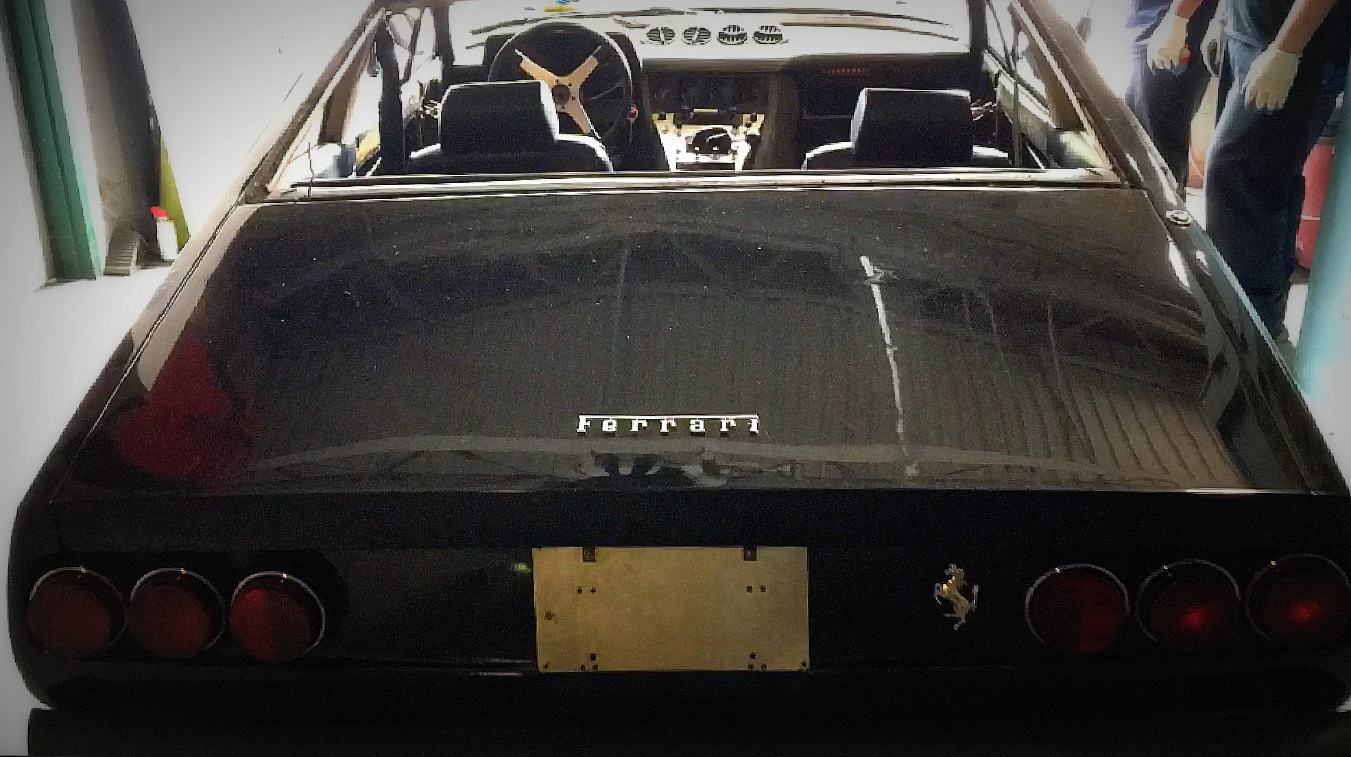 Vintage Ferrari Blasting American Dry Stripping
