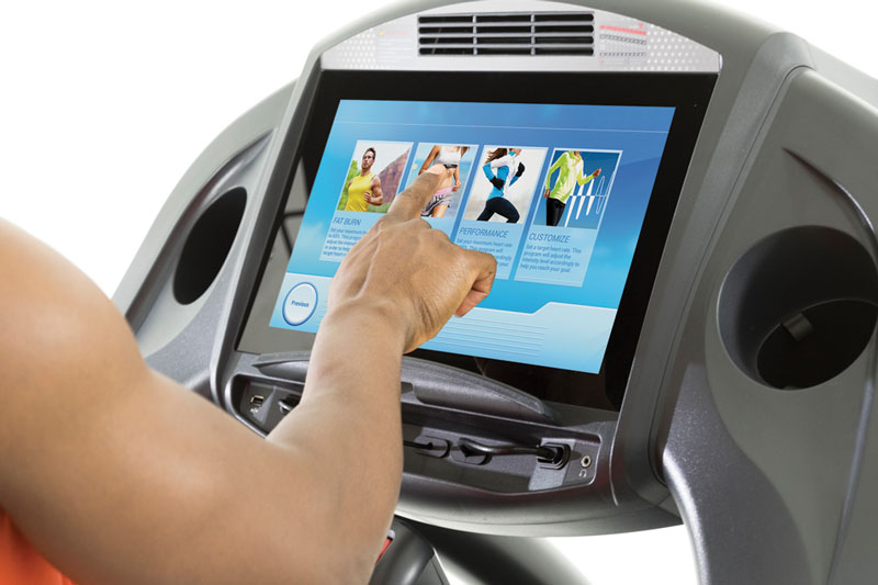 Circle Fitness 7000 Treadmill With Touch Screen