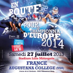 France v. Augustana Poster