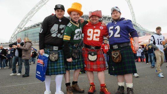 NFL London Fans