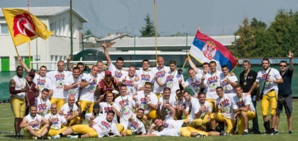 Servia - Vukovi champions
