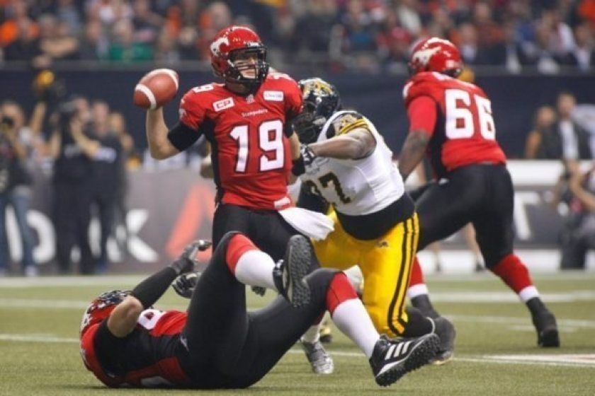 CFL STAMPEDERS TIGERCATS
