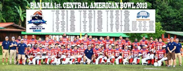 2013 1st CA Bowl Panama Team