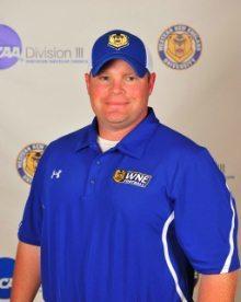 WNE - Head coach Keith Emery