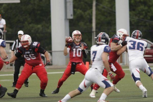 IFAF WCs - USA v Japan2-3