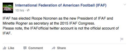 IFAF FB