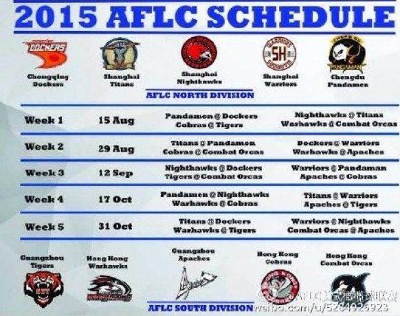 AFLC schedule 2