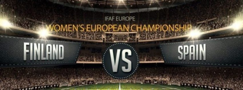 IFAF Europe - Womens EC Finland v Spain