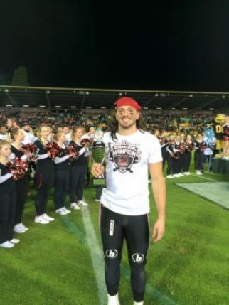 Germany - German Bowl XXXVII MVP - Evan Landi