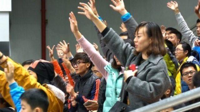China - CAFL - Wuhan final-crowd-2