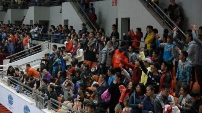 China - CAFL - Wuhan final-crowd