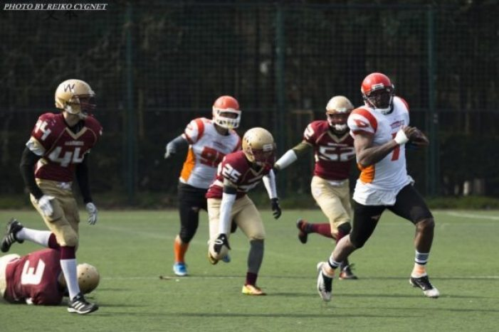 China - AFLC - semi - SH Warriors-Dockers 2015 - 3