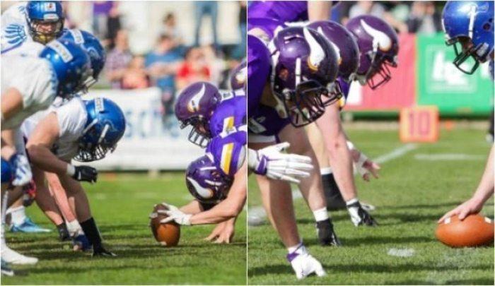 Austria - Vikings-Silverhawks - 2016 - game 1-2pic.2