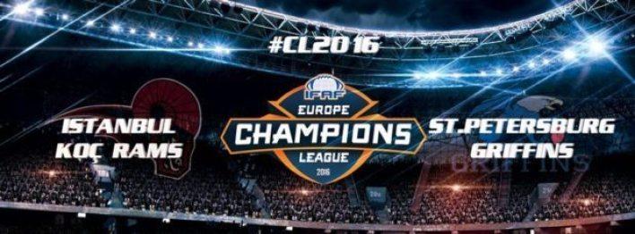 IFAF Europe - CL2016-KocPetersburg