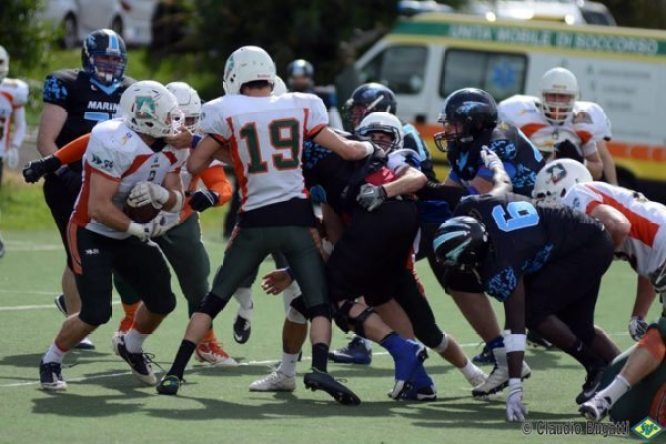 Italy - Dolphins-Marines 2016 action.4