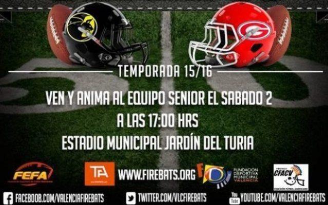 Spain - Firebats-Giants game poster April 2-3