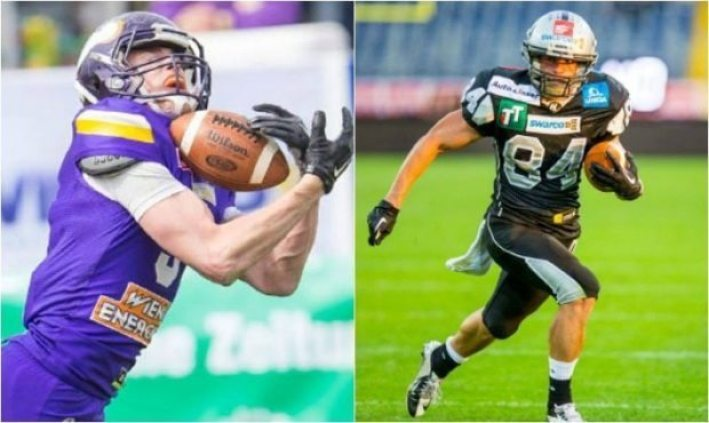 Austria - Vikings-Raiders - 2pic - receivers