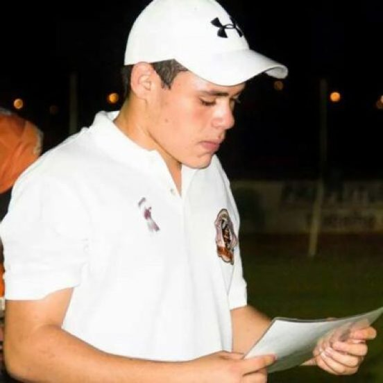 18 year old Petroleiros Coach, Heitor Medeiros is one of the brightest shining stars in Brazil's youth movement of football coaches. photo credit: Facebook page of Hetor Medeiros