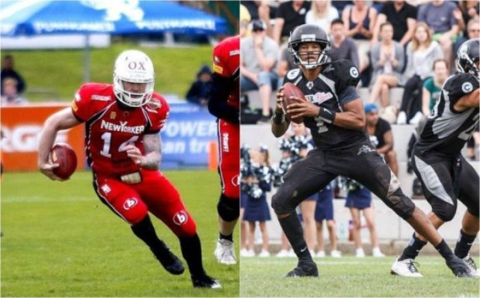 Germany - Braunschweig-REbels - 2pic - QBs - game 2 2016