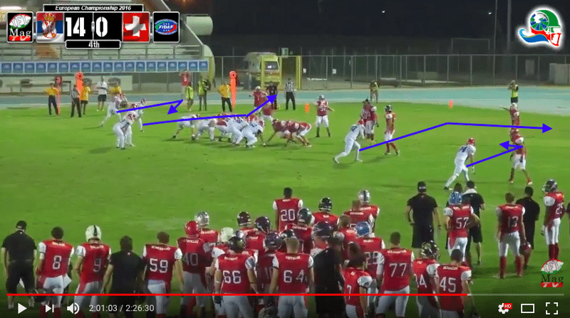 IFAF Europe - 2016 Qualifying tournament - Italy-Serbia - action7