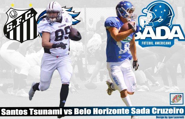 LIVE STREAM: Brazil – Sada Cruzeiro v. Santos Tsunami, Sat. Aug. 19 @ 2p (1p EDT, 7p CEST) - American Football International