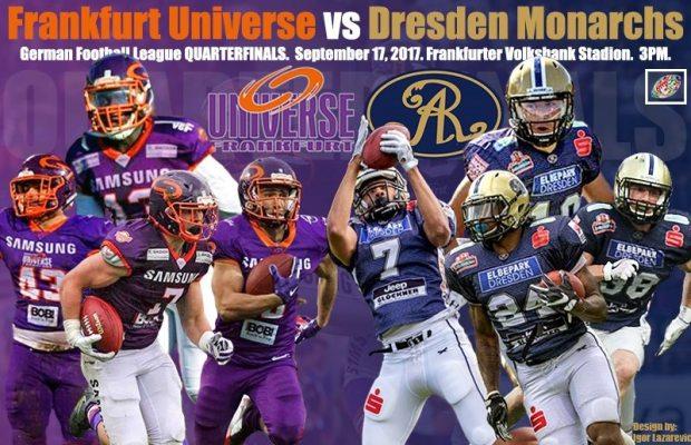Live Stream Ppv German Quarterfinals Dresden Monarchs Frankfurt Universe Sun Sept 17 3p Cest 9a Edt